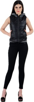 Madame Royale Sleeveless Solid Women's Jacket