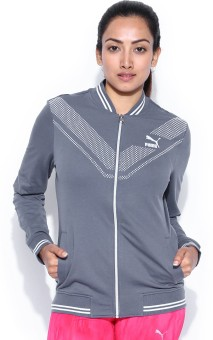 Puma Full Sleeve Printed Women's Non-quilted Jacket