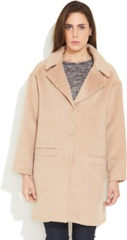 Carapace Full Sleeve Solid Women's Oversised Winter Coat Jacket - JCKE8H6NFFVFHKHW