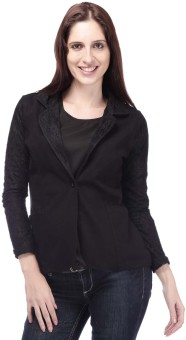 Eliza Donatein By Shoppers Stop Full Sleeve Self Design Women's Quilted Jacket