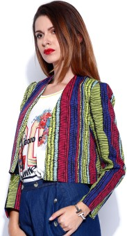 Noble Faith Full Sleeve Printed Women's Jacket
