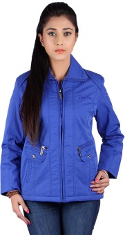 Slims 3401 Full Sleeve Solid Women's Quilted Jacket