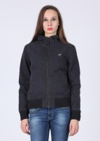 Lee Full Sleeve Solid Women's Jacket