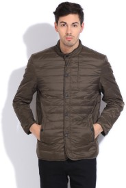 U.S.Polo.Assn Full Sleeve Solid Men's Jacket