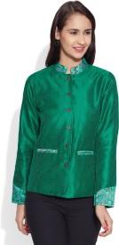 Very Me Full Sleeve Solid Women's Jacket