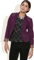 DONE BY NONE Full Sleeve Solid Women's Jacket
