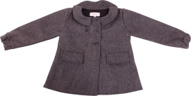 Fbbic Full Sleeve Solid Girl's Jacket