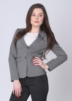 Scullers Full Sleeve Solid Women Jacket