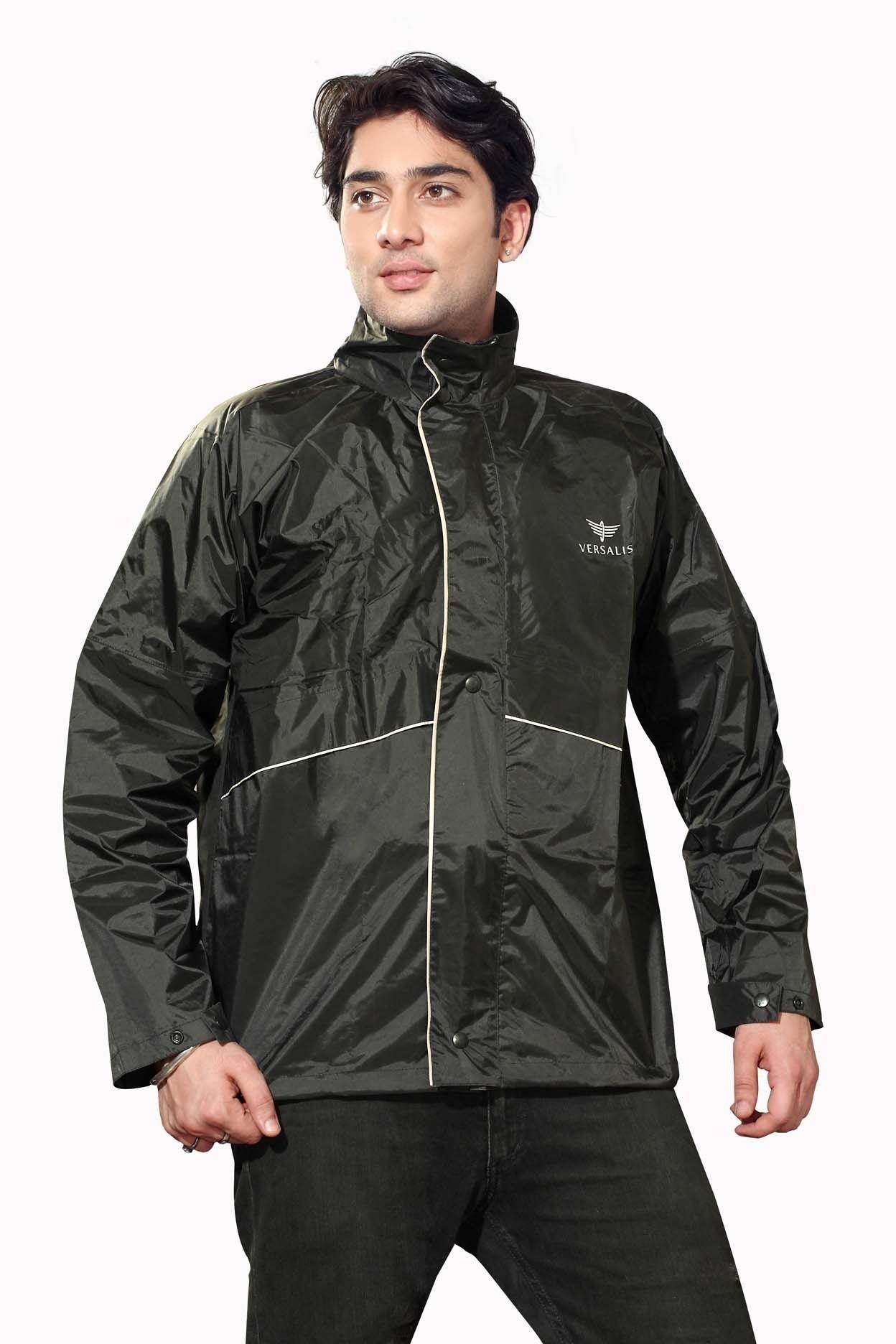 Buy Versalis Full Sleeve Solid Men's Jerkin Jacket @ ₹ 450