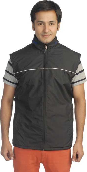 NU9 Sleeveless Solid Reversible Men's Reversible Jacket