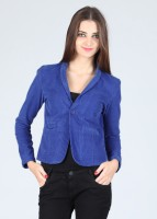 Alibi Full Sleeve Solid Women's Jacket