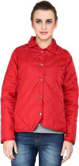 @499 Winter Full Sleeve Solid Women's Quilted Jacket - JCKE3HBQX7M75SAT