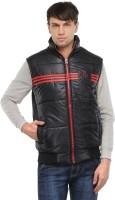 TSX Sleeveless Solid, Striped Men's Quilted Jacket - JCKE292TZSKTZZ2H
