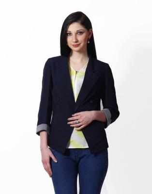 Hermosear Full Sleeve Solid Women Jacket