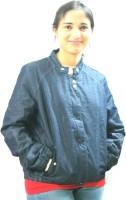 Revez Full Sleeve Solid Women's Jean Denim Jacket