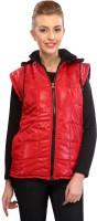 Lavennder Sleeveless Checkered Women's Motorcycle Jacket