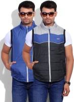 Numero Uno Sleeveless Solid Reversible Men's Reversible Jacket - JCKEY8E6GTZ6DZS3