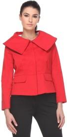 Kaaryah Full Sleeve Solid Women's Jacket