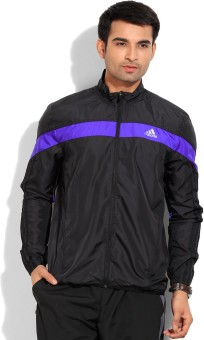 Adidas Full Sleeve Solid Men's Sports Jacket Jacket