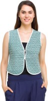 Oxolloxo? Sleeveless Printed Women's Quilted Jacket