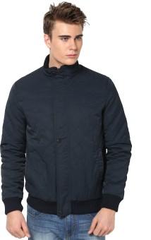Orewa Full Sleeve Self Design Men's Self Design Jacket Reversible Jacket