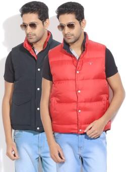 Gant Sleeveless Solid Men's Reversible Jacket Reversible Jacket