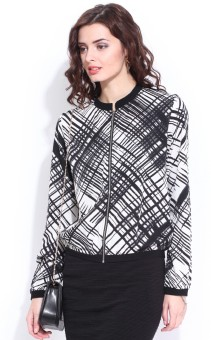 DressBerry Full Sleeve Printed Women's Non-Quilted Jacket