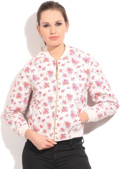 United Colors Of Benetton Full Sleeve Floral Print Women's Jacket