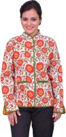 ChhipaPrints Full Sleeve Printed Reversible Women's Quilted Reversible Jacket - JCKEFNPJHAVBXYVF