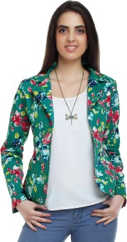 20Dresses Fantasia Summer Backyard Full Sleeve Floral Print Women's Woven Jacket