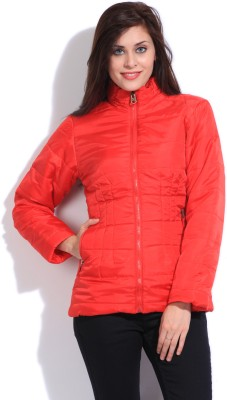 Duke Duke Full Sleeve Solid Women's Jacket (Red)