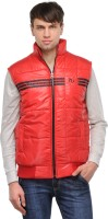 TSX Sleeveless Solid, Striped Men's Quilted Jacket - JCKE292T9FGSQZWH