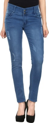 Avarice-Slim-Fit-Womens-Blue-Jeans