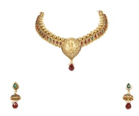 J.N.Gold Copper Jewel Set