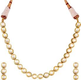 Kushals Fashion Jewellery Copper, Alloy Jewel Set