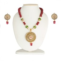 99HomeMart Traditional Sensation Alloy Jewel Set Gold, Multicolor