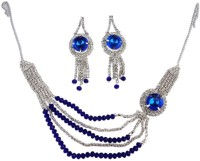 Suvi's Royal Blue Set Enamel Jewel Set Blue