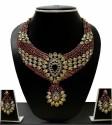Zaveri Pearls Beautiful Designer Kundan Alloy Jewel Set - Multicolor