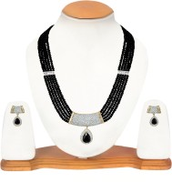 Snazzy Alloy Jewel Set Gold, Silver, Black