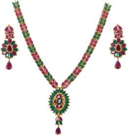 Maa Satti Jewellers Copper Jewel Set