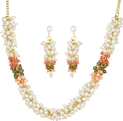 7782bce2d Classique Designer Jewellery Mother of Pearl Jewel Set for Rs. 1