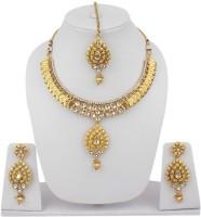 Styylo Fashion Alloy Jewel Set Gold