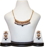 Anjan Gorgeous Designer Alloy Jewel Set Gold