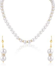 Oviya Alloy, Brass Jewel Set