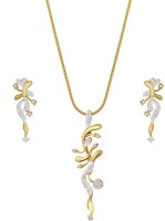 Sempre Of London Loved One Alloy Jewel Set Gold