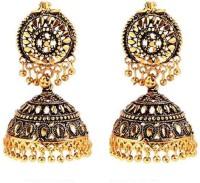 GoldNera Antique Mines Alloy Jhumki Earring