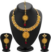 Sukkhi Divine Temple Copper Jewel Set Gold