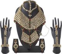 MoKanc Royal Queen Brass Jewel Set Multicolor