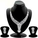 Sukkhi Zinc Jewel Set - Silver - JWSDVC2HZPTZNQYC