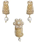 Sthri Elite Alloy Jewel Set White